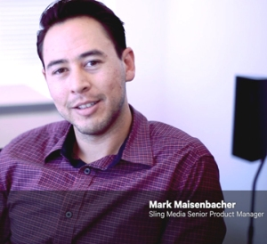 Headshot of Mark Maisenbacher of Sling Media