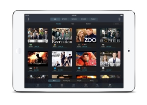 SlingPlayer 3.0 Gallery on iPad