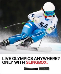Skiing - Olympics banner