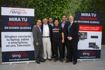 Sling Media & Eckhert Teams at Slingbox Launch in Mexico